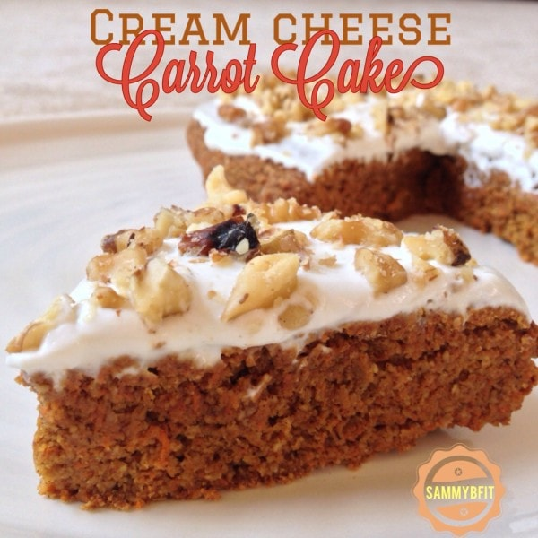 Cream Cheese Carrot Cake | https://withpeanutbutterontop.com