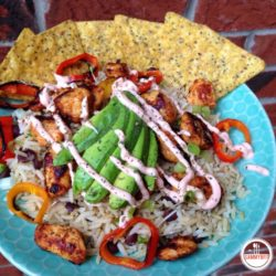 Chipotle Chicken and Rice Bowl