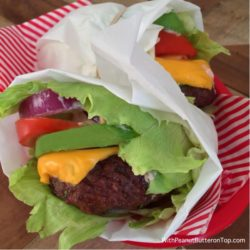 Chipotle Burger Lettuce Wrap
