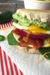 The Ultimate Guacamole Breakfast Sandwich | www.withpeanutbutterontop.com