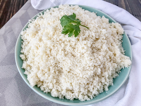 Super How To Make And Freeze Cauliflower Rice Home Interior And Landscaping Palasignezvosmurscom