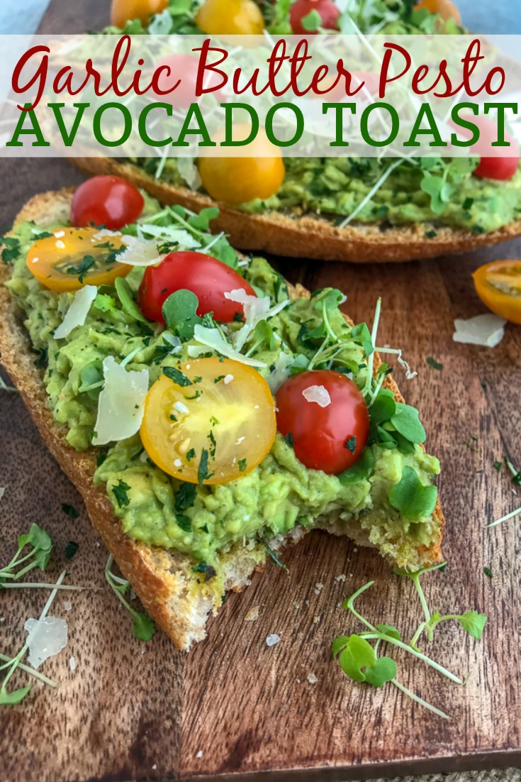 If you need a new, healthy and simple breakfast or snack option, then try this super flavorful avocado toast! #easyrecipes #snacks #appetizer #breakfast #avocadotoast | https://withpeanutbutterontop.com